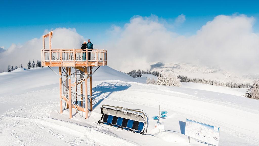 Aussichtsturm (c) Salzburger Saalachtal Tourismus