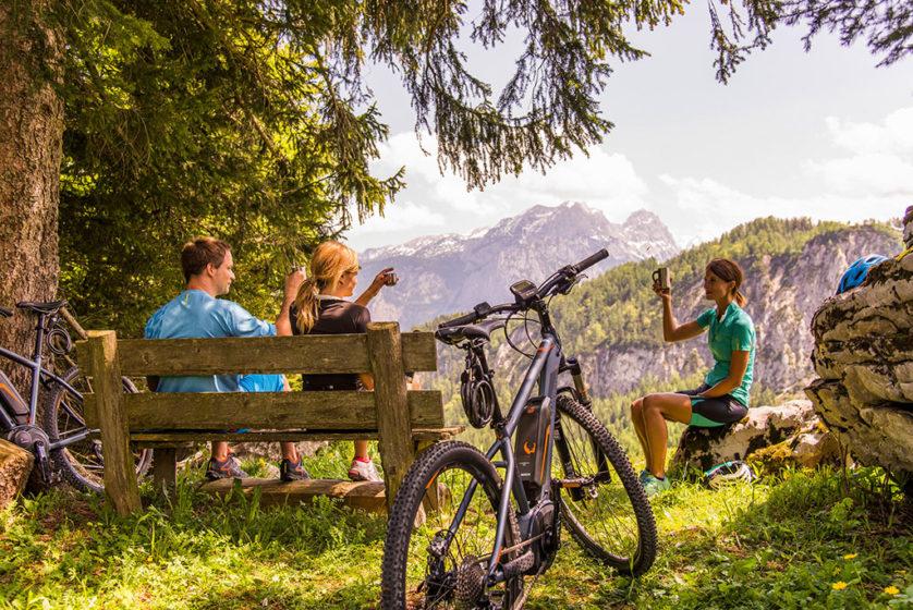 E-MTB Aussicht (c) Salzburger Saalachtal Tourismus