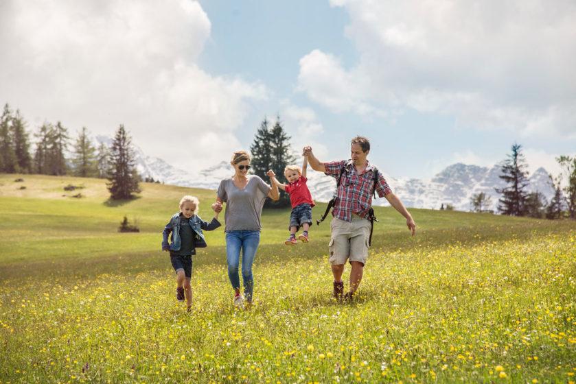 Familie (c) Salzburger Saalachtal Tourismus