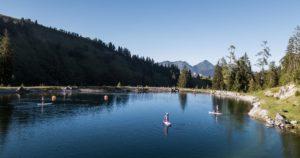 Speicherteich (c) Salzburger Saalachtal Tourismus