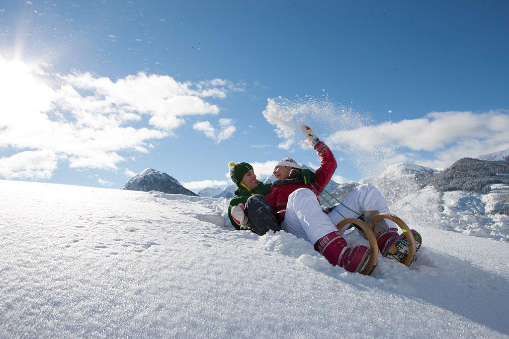 Winter-Rodeln (c) SalzburgerLand