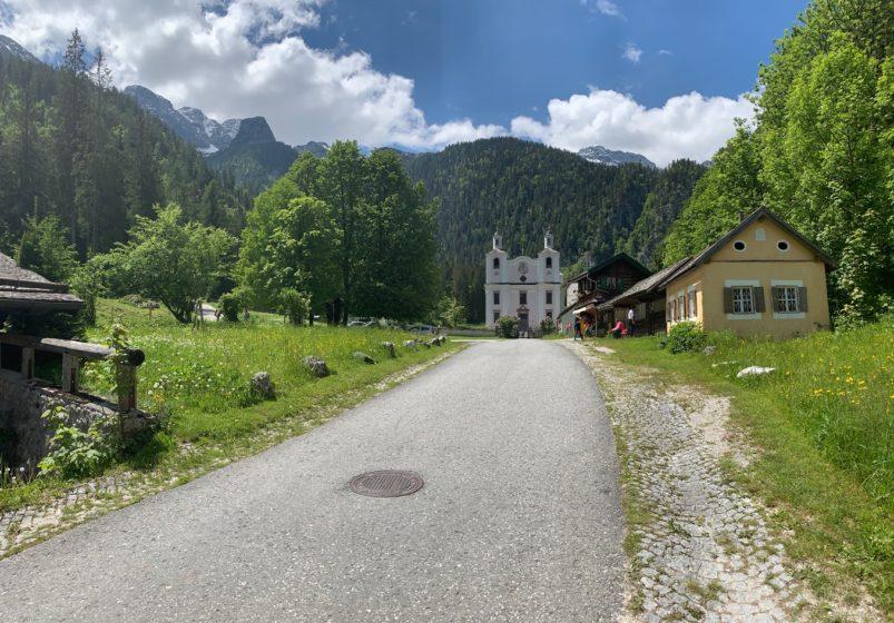 Maria Kirchental Loferer Steinberge