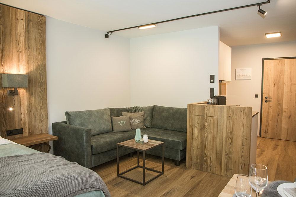Sitzbereich - Sofa bzw. Schlafsofa
