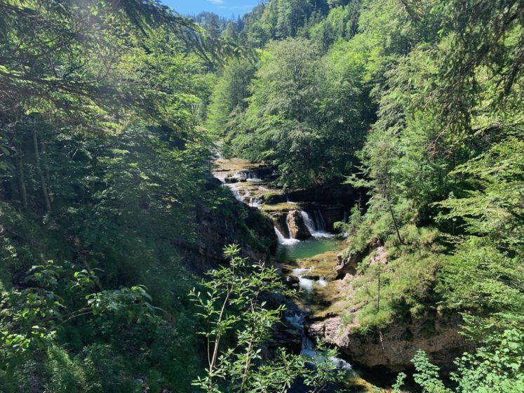 Wanderung Staubfall Heutal Unken - Wasserfälle