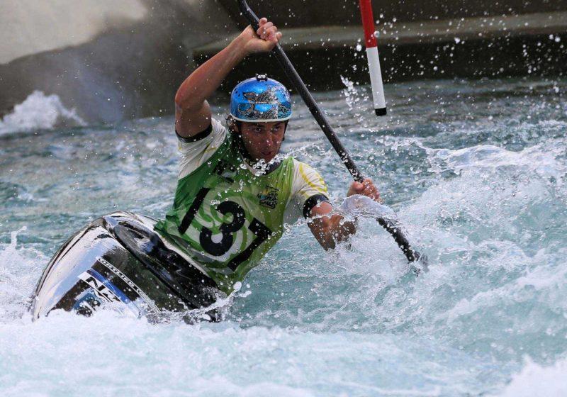 Kanu Slalom Lofer - Saalachtaler Kanutage