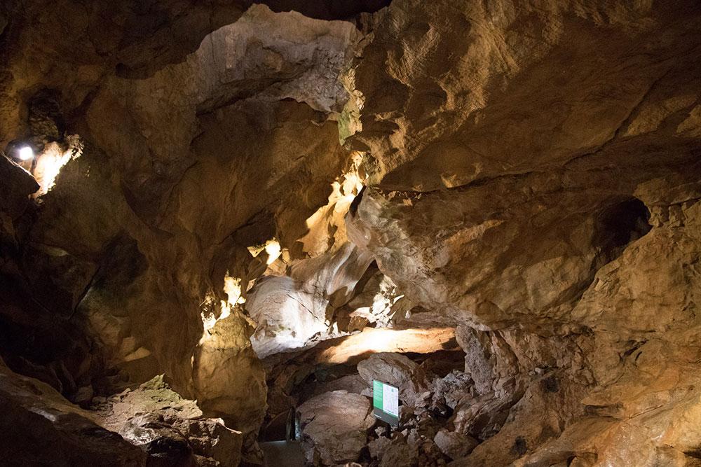 Lamprechtshöhle St. Martin bei Lofer - Gewölbe