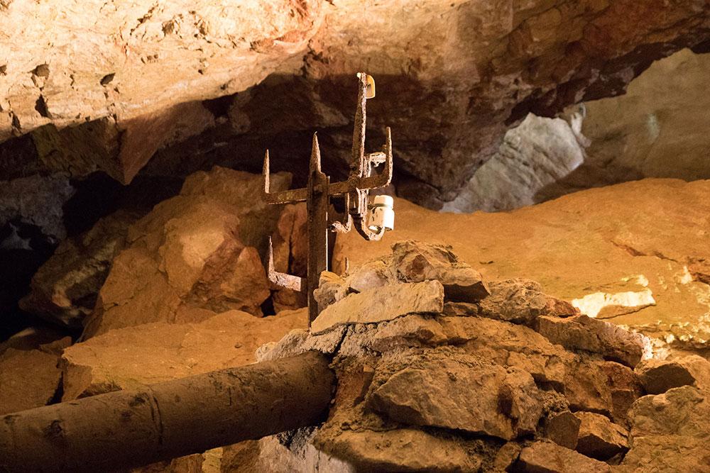 Lamprechtshöhle St. Martin bei Lofer - altes Relikt