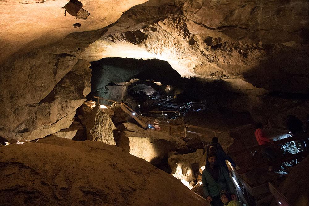 Lamprechtshöhle St. Martin bei Lofer - Stufen