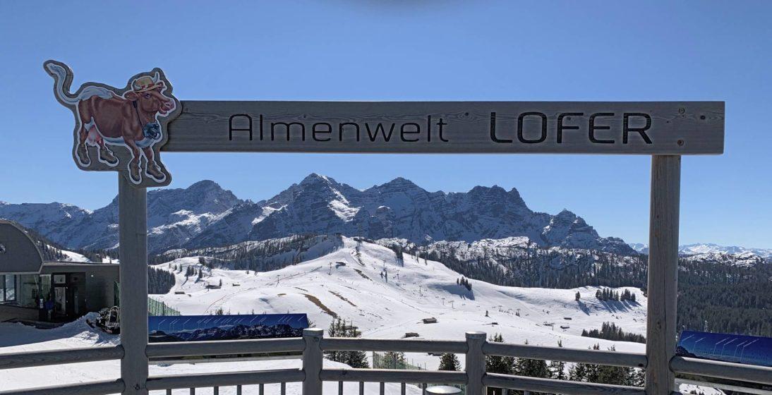Almenwelt Lofer - Skigebiet Loferer Alm