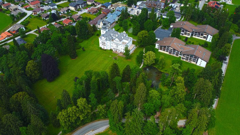 Schlosspark Grubhof in St. Martin bei Lofer